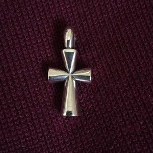 James Avery Medium St. Theresa Cross pendant